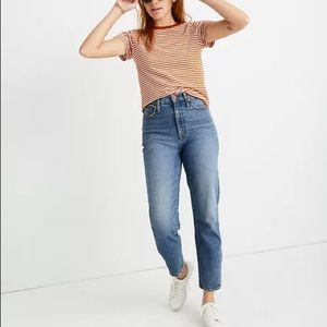 NWT Madewell Classic Straight Jeans